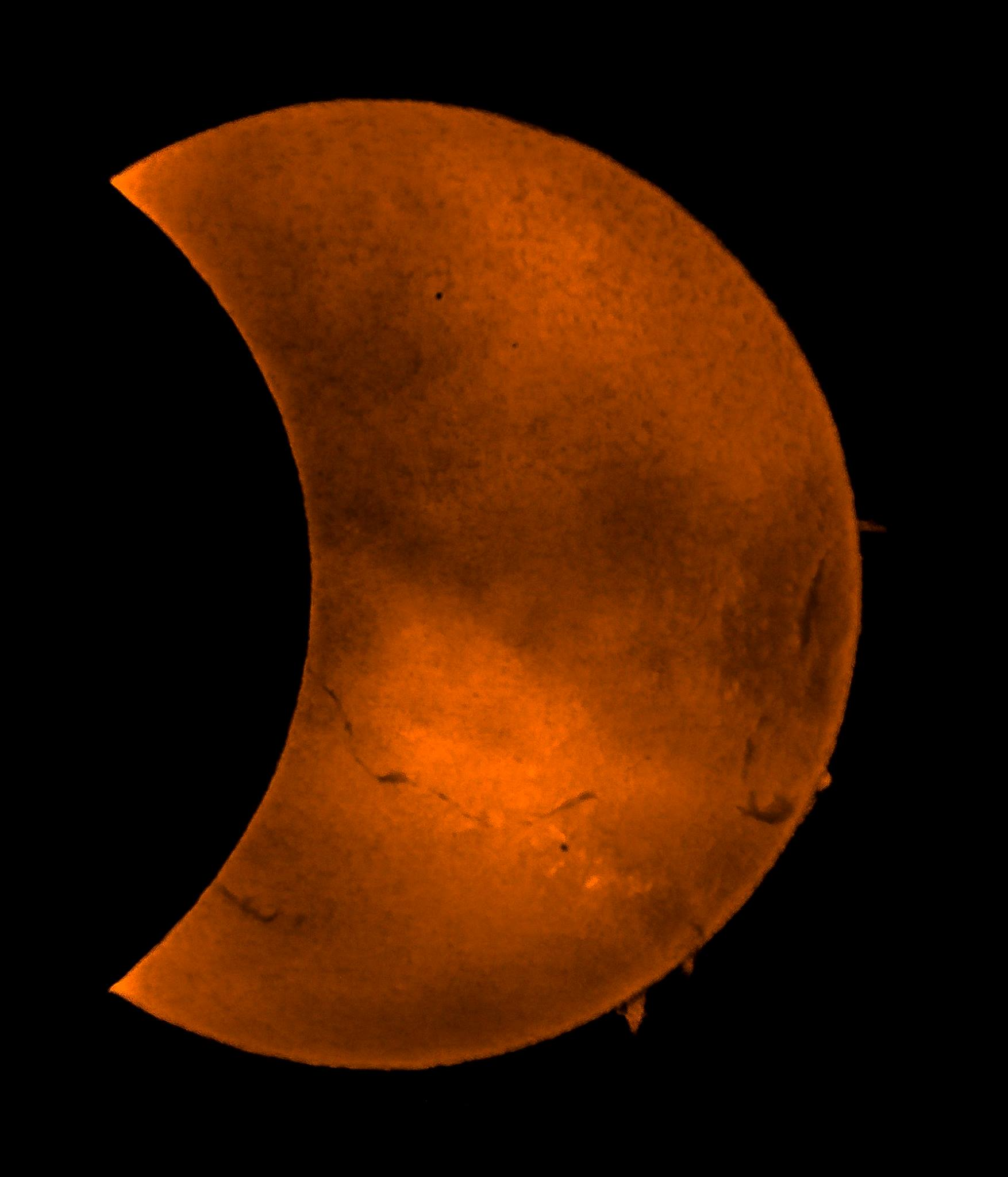 The eclipse by HCO member Matt Armitage