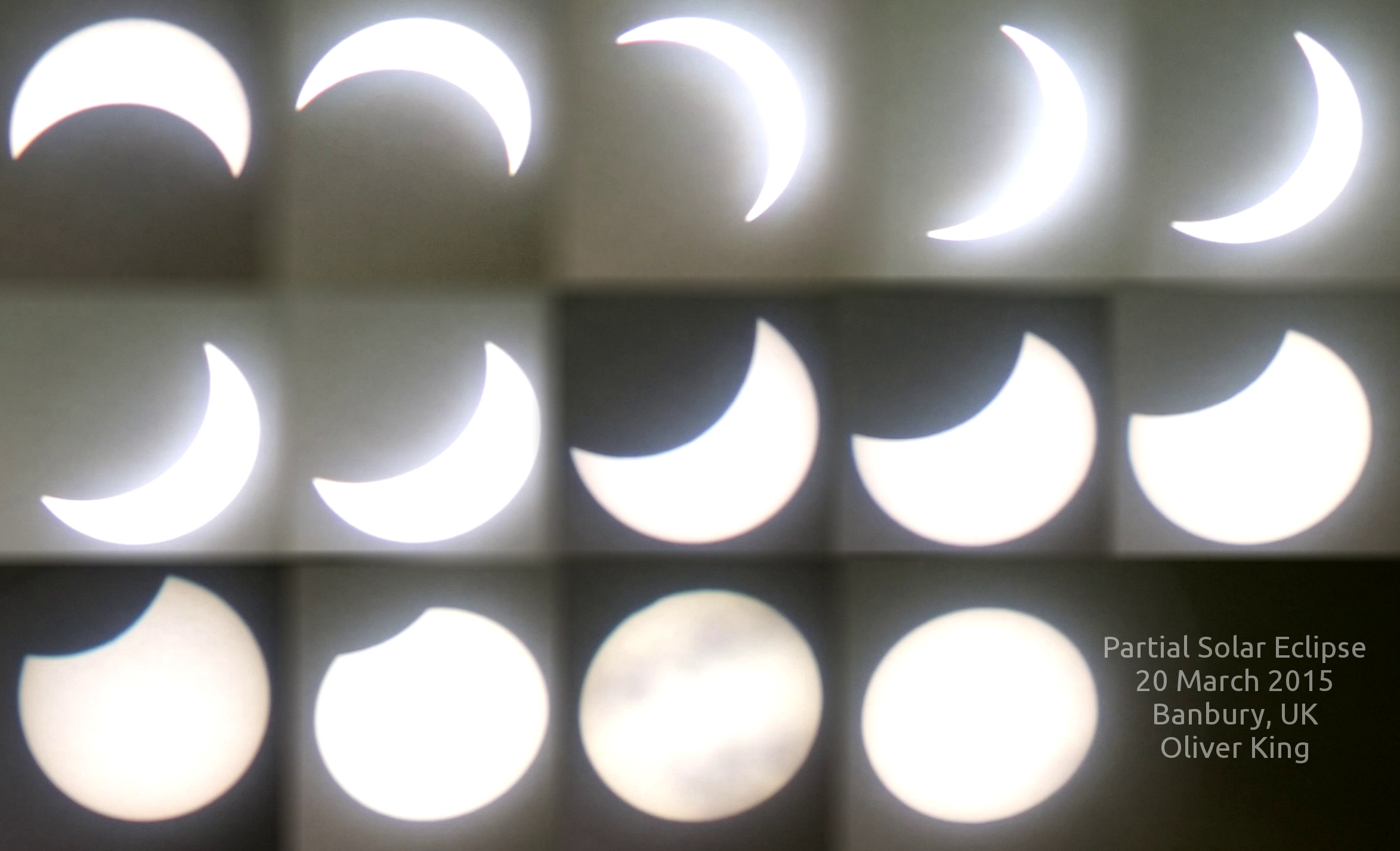 The eclipse by HCO member Oliver King