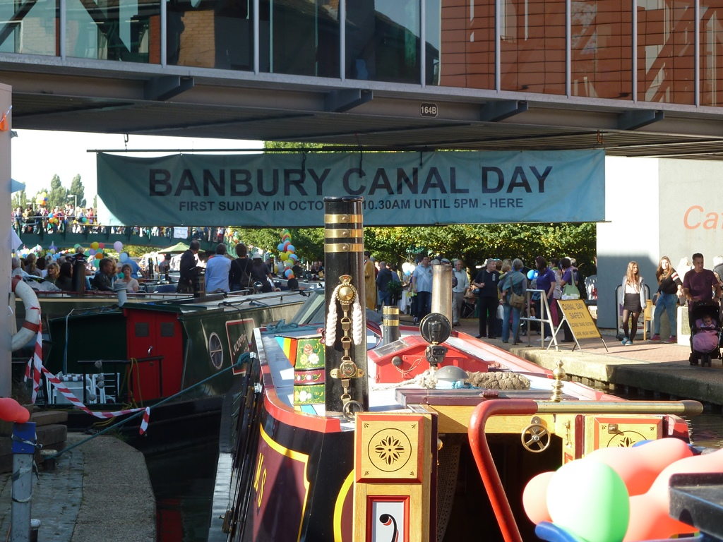 HCO at Banbury Canal Day 2013 (© Oliver King)